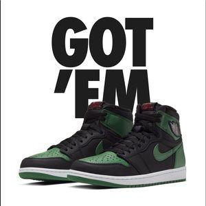 Nike Air Jordan 1 Pine Green 2.0